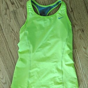 Nike Lime Green Tank Top